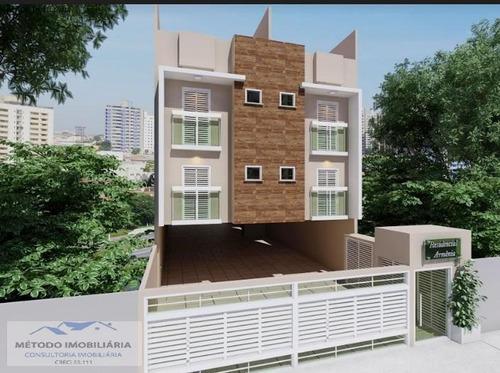 Apartamento Sem Condomínio Para Venda Em Santo André, Vila Tibiriçá, 2 Dormitórios, 1 Banheiro, 2 Vagas - 12574_1-1362718