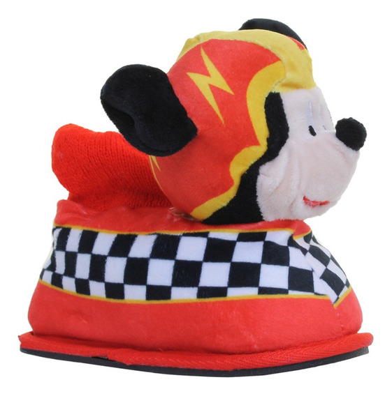 Pantuflas Addnice Moda Mickey Racers Niño Rj/ng