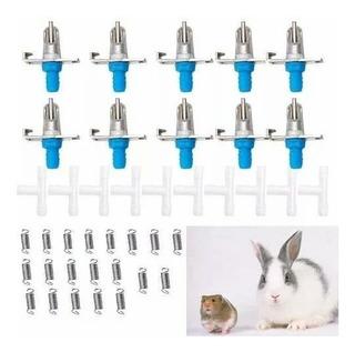 Bebederos Para Conejos, Cuy X 18 Unidades Oferta