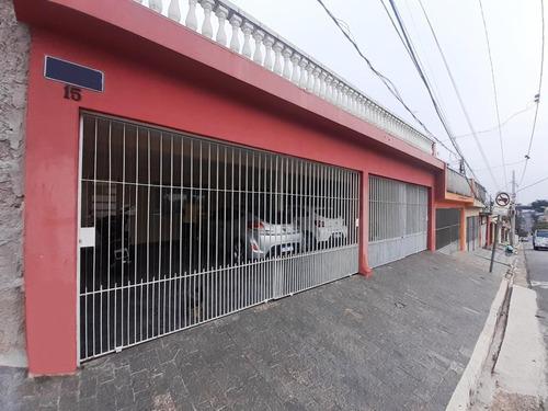 Sobrado Com 3 Dormitórios À Venda, 221 M² - Planalto - São Bernardo Do Campo/sp - So20327