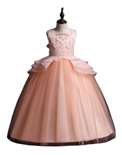 Vestido De Fiesta Para Nenas Y Adolescente
