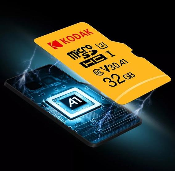 Kodak Micro Sd Card 32gb Tf Cartão De Class10 C10 U1 Cartão