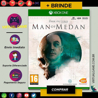 The Dark Pictures Anthology: Man Of Medan - Jogo Xbox One - Midia Digital