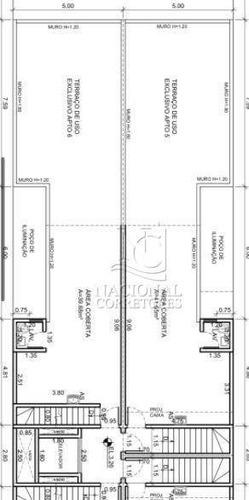 Imagem 1 de 22 de Cobertura Com 3 Dormitórios À Venda, 170 M² Por R$ 870.000,00 - Campestre - Santo André/sp - Co5512