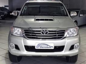 Toyota Hilux 3.0 Srv Cd 4x4 Aut 2013 Prata - Dasauto