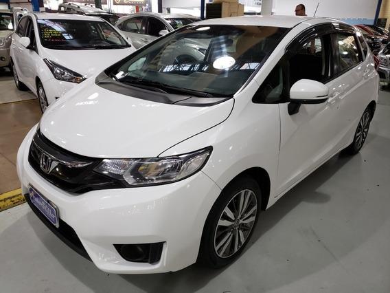 Honda Fit 1.5 Exl Flex Automático 2015 Branco (couro)