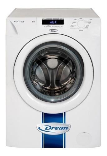 Lavarropas automático Drean Next 8.12 ECO inverter blanco 8kg 220V