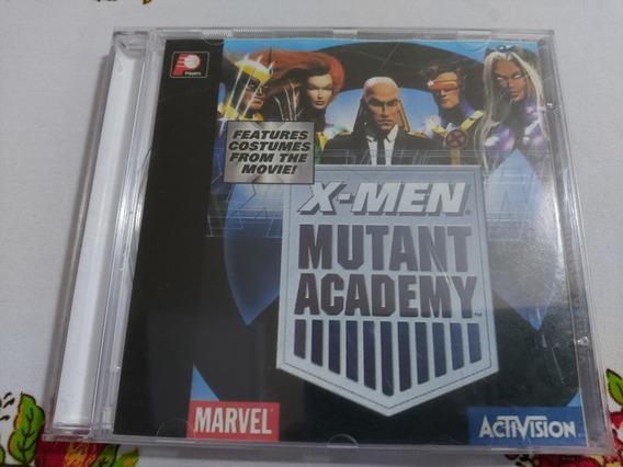 X-men Mutant Academy Playstation Ps1 Patch Prensado Prateado