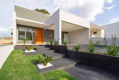 Ampla Casa Térrea, Em Condomínio De Valinhos - Ca5129