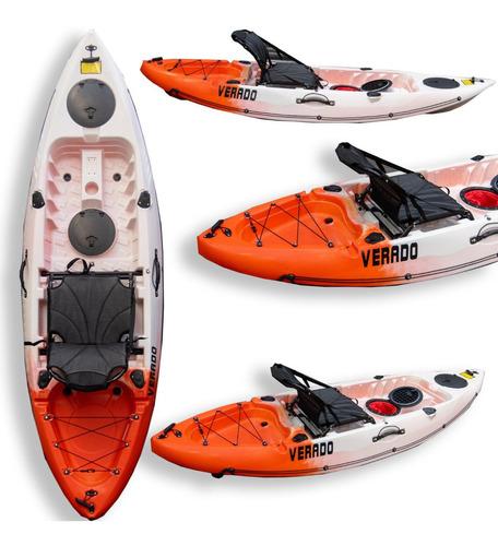 Kayak Verado Pesca Tr 25 Silla Porta Caña Tambucho Nautica