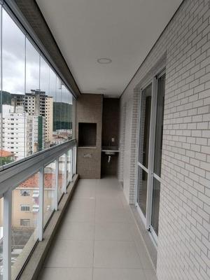 Apartamento Em Marapé, Santos/sp De 111m² 3 Quartos À Venda Por R$ 730.000,00para Locação R$ 4.500,00/mes - Ap174665lr