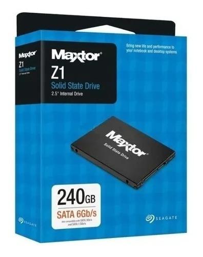 Ssd Hd Maxtor Z1 240gb Sata 6gb/s 2.5 Garantia Nf