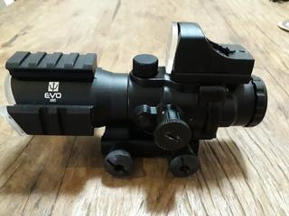 Acog Mira Holográfica Evo 4x32 Com Mini Red Dot