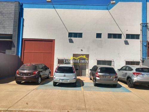 Sala Para Alugar, 539 M² Por R$ 5.000,00/mês - Parque Novo Mundo - Americana/sp - Sa0070