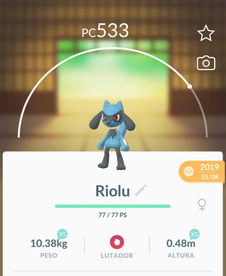 Riolu Pokemon Go