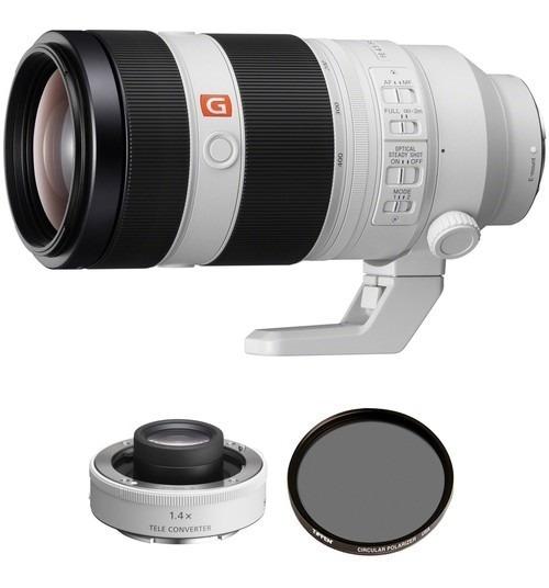 Sony Fe 100-400mm F/4.5-5.6 Gm Oss Lente E 2x Teleconverter