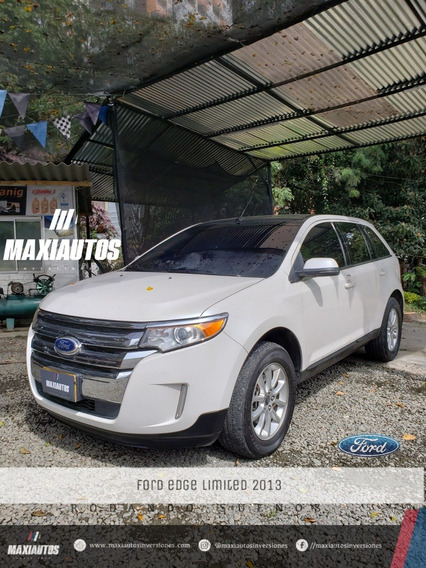 Ford Edge Limited Modelo 2013 Blanco Puro Gasolina 66.500 Km