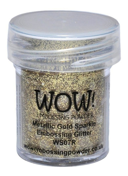 Polvo Para Embossing Metallic Gold Sparkle Wow!