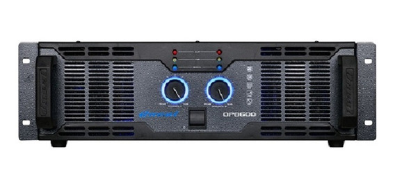Amplificador Oneal Op 8600 2000w Rms - Bivolt