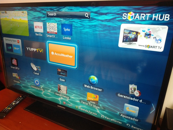 Smart Tv Led 40 Samsung Un40eh5300 Fullhd Hdmi Falha Na Tela