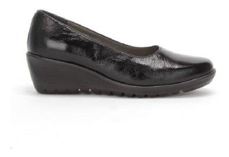 Zapato Onena Mujer Piel Negro 3970