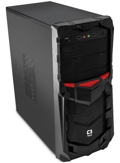 Gabinete Gamer Barato Mt-g50 Preto C3tech Sem Fonte