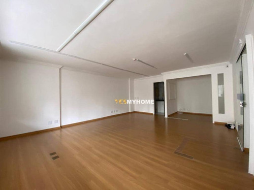Sala Para Alugar, 112 M² Por R$ 4.000/mês - Batel - Curitiba/pr - Sa0160