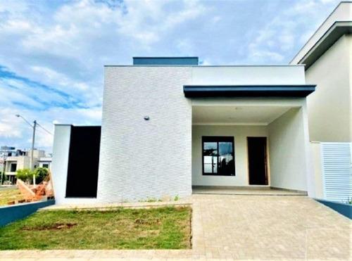 Imagem 1 de 30 de Casa Com 3 Dormitórios À Venda, 114 M² Por R$ 590.000,00 - Condomínio Reserva Das Paineiras - Piracicaba/sp - Ca2937