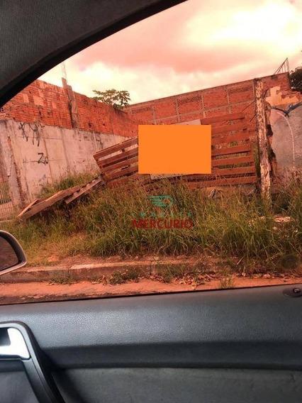 Terreno À Venda, 363 M² Por R$ 150.000 - Jardim Terra Branca - Bauru/sp - Te1227