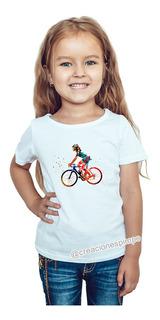 Camiseta Niña Mickey Mouse Moda Lifestyle Poliester Cpr4