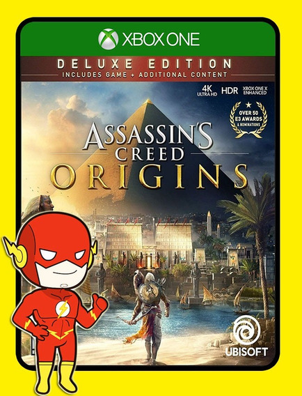 Assassins Creed Origins Deluxe Xbox - 25 Dígitos (envio Flash)