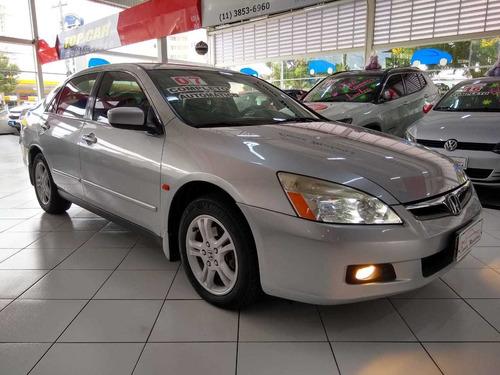 Honda Accord Lx Aut. Ñ Civic 2007 Novo Troco Financio