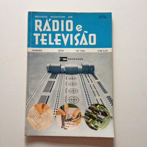 Revista Rádio E Televisão Nº 309 Janeiro De 1974