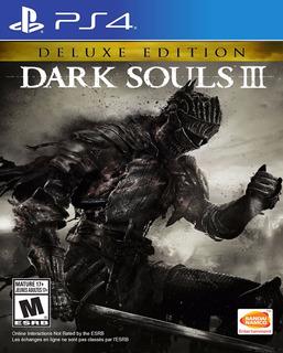 Dark Souls 3 Deluxe Edition Ps4 Digital Gcp