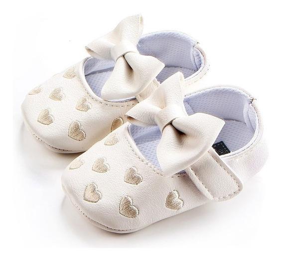 Zapatos Para Bebé Blancos