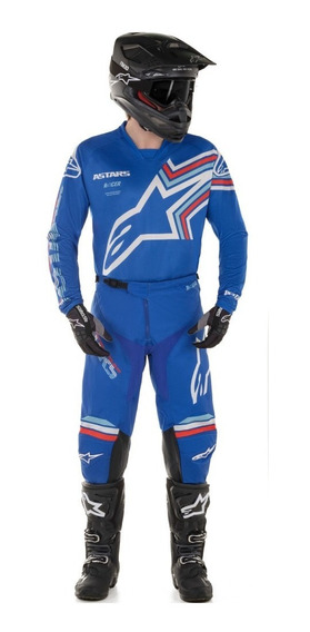 Conjunto Motocross Alpinestars Racer Braap 2020 Az Solomoto