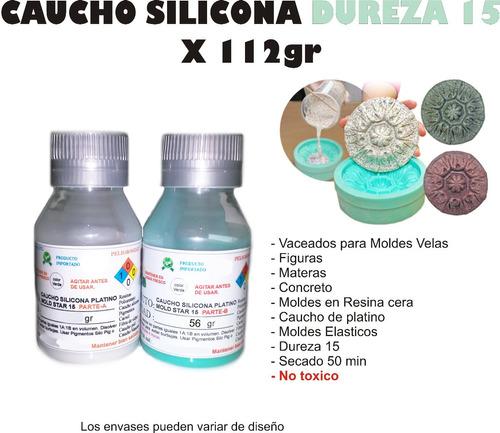 Caucho Silicona Para Moldes Mold 15 X112g Figuras