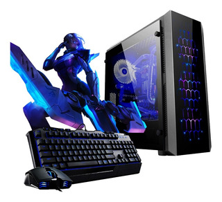 Pc Armada Gamer Amd Ryzen 5 3400g Rx Vega 11 1tb Hdd 8gb Ddr4 A320 Jugá Fortnite Fifa Lol P1