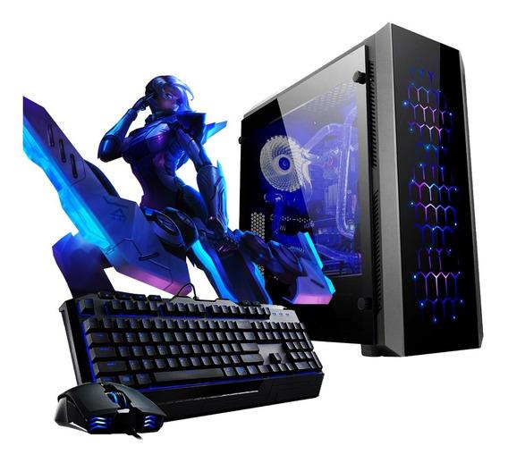 Pc Armada Gamer Amd Ryzen 5 3400g Rx Vega 11 1tb Hdd 8gb Ddr4 A320 Jugá Fortnite Fifa Lol P1