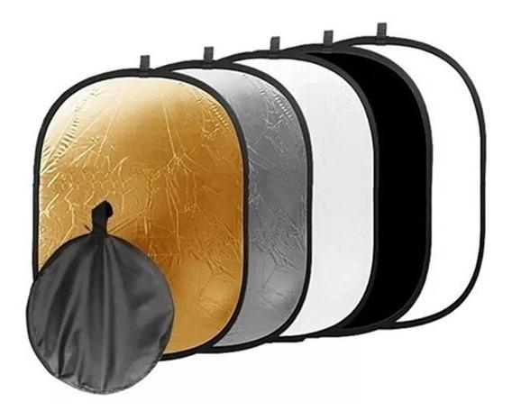 Rebatedor Oval 5 Em 1 90x120cm 5x1 90 X 120 90x120 Cm Case