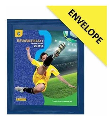 250 Figurinhas Brasileirão 2019 Séries A E B lançamento!