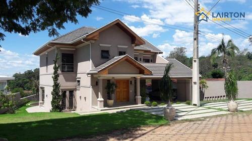 Casa De Alto Padrão À Venda, 402 M² Por R$ 1.850.000 - Recanto Tranqüilo - Atibaia/sp - Ca2222