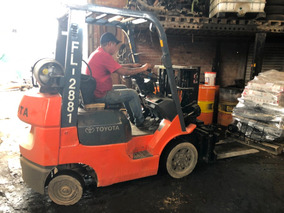 Montacargas Forklift 1.5 Ton Toyota 2.20 M Altura 7fgcu20