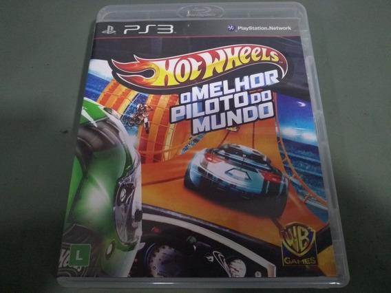 Jogo Seminovo Hotwheels O Melhor Piloto Do Mundo Ps3!!!
