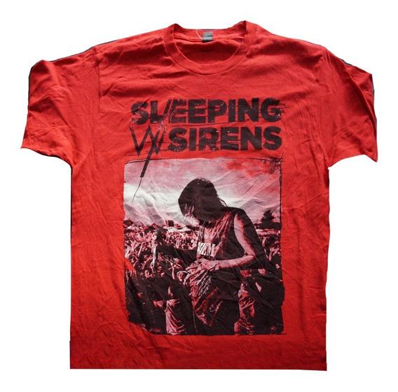 Camiseta Sleeping With Sirens Importad Rock Activity Talla M