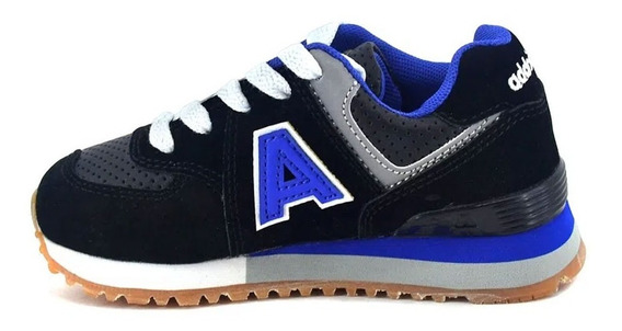 Zapatillas Addnice Running Cordón Olimpic Luces (0601)