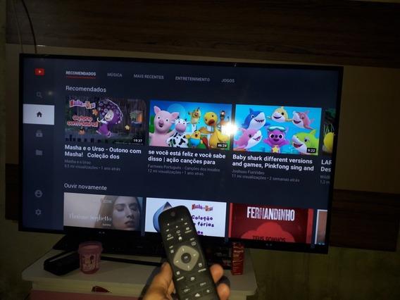 Vendo Televisão Philips 55polegadas 4k Smart Tv