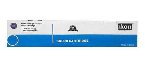 Imagen 1 de 5 de Cartucho Toner Cyan Compatible Para Uso Ricoh Aficio Mpc3500