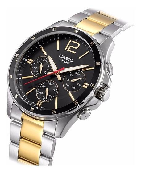 Relógio Casio Original Na Caixa Modelo Mtp-1374