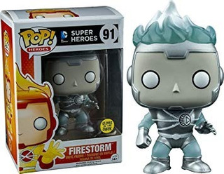 Funko Pop! White Lantern Firestorm Exclusive Dc Glows